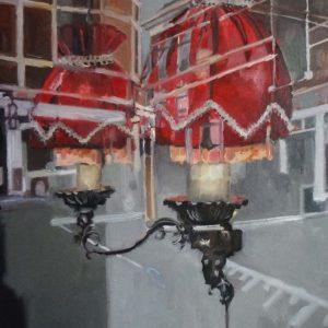 Annemarie van Hooff, 'Gelukkig nieuwjaar' 120 x 140 cm