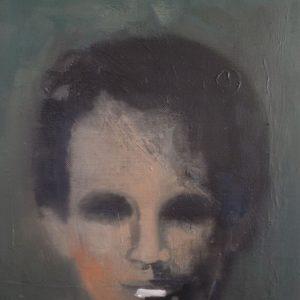 Annemarie-van-Hooff--Groen-portret--30-x-40-cm