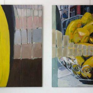 Annemarie van Hooff 'In Brussel' twee luik