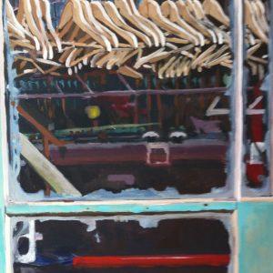 Annemarie van Hooff 'Leeg gehaald' 120 x 140 cm