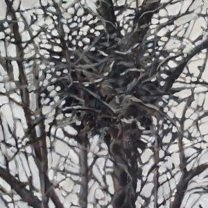 Annemarie van Hooff 'Nest 2' 100 x 120 xm