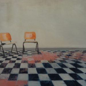 Annemarie-van-Hooff--Twee-stoelen-in-het-park2--40-x-60-cm